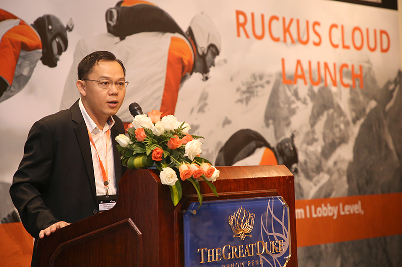 ក្រុមហ៊ុន AWS Cambodia សហការណ៍ជាមួយ ក្រុមហ៊ុន Ruckus Networks សម្ពោធជាផ្លូវការនូវ Ruckus Cloud Wi-Fi នៅក្នុងប្រទេសកម្ពុជា