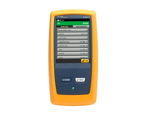 DSX CableAnalyzer™ Series Copper Cable Certifier
