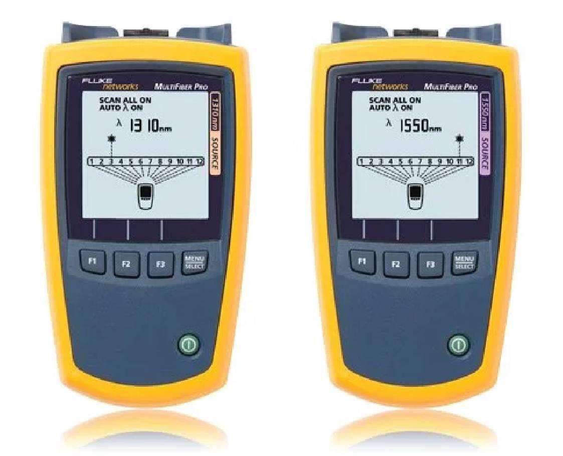 MultiFiber™ Pro Optical Power Meter and Fiber Test Kits