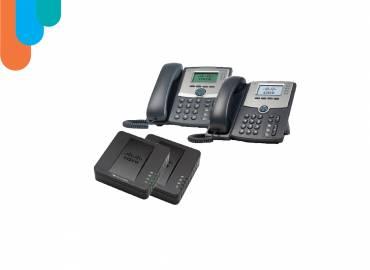 CISCO VoIP PHONES & ADAPTERS